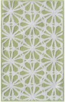 Rug Market Kids Tween 71144 Connie Green/White Area Rug