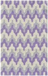 Rug Market Kids Tween 71161 Surge Purple/Grey/White Area Rug