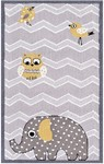 Rug Market My First Rug 71166 Eleph & Bird Area Rug