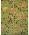 Feizy Cordonnet 7152F Green Closeout Area Rug