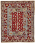 Feizy Piraj 6451F Red/Red Area Rug