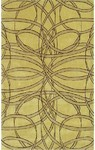 Rug Market Ecconox 72257 Spiro Yellow/Gold Closeout Area Rug