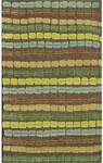 Rug Market Statement 72285 Crete Brown/Blue/Tan/Green Area Rug