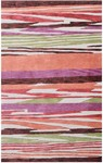 Rug Market Statement 72502 Northern Lights Orange/Green/Brown Area Rug