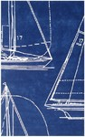 Rug Market Statement 72545 Sail Away Blue/White Area Rug