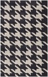 Rug Market Statement 72557 Black Hound Shale/Grey Area Rug