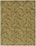 Feizy Leafscape 7273F Sage/Green Closeout Area Rug