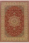 Couristan Taj Mahal 7347/9341 All Over Center Medallion Rose Bud Closeout Area Rug - Spring 2011