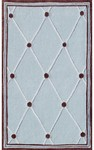 Rug Market Kids My First Rug 74040 Tufts Blue/Brown Area Rug
