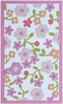 Rug Market Kids Floral 74082 Floral Ditsy Cream/Pink/Orange Area Rug