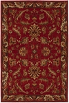 Karastan Knightsen 74600-12112 Walnut Park Red Closeout Area Rug