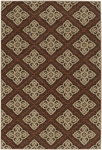 Karastan Carmel 74700-13130 Sonado Brown Closeout Area Rug