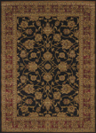 United Weavers Affinity 750 00870 Reza Black Area Rug