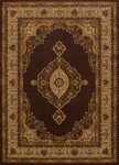 United Weavers Affinity 750 01250 Pervana Brown Area Rug