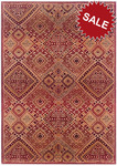 Oriental Weavers Genesis 8023X Red Multi Closeout Area Rug