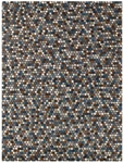 Feizy Waulee 8047F BRNBLU Brown Blue Closeout Area Rug