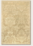 Couristan Impressions 8064/0264 Antique Damask Gold/Ivory Closeout Area Rug - Spring 2017