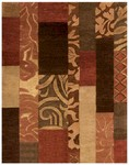 Feizy Coltrane 8098F Red Closeout Area Rug