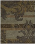 Feizy Coltrane 8101F Smoke Closeout Area Rug