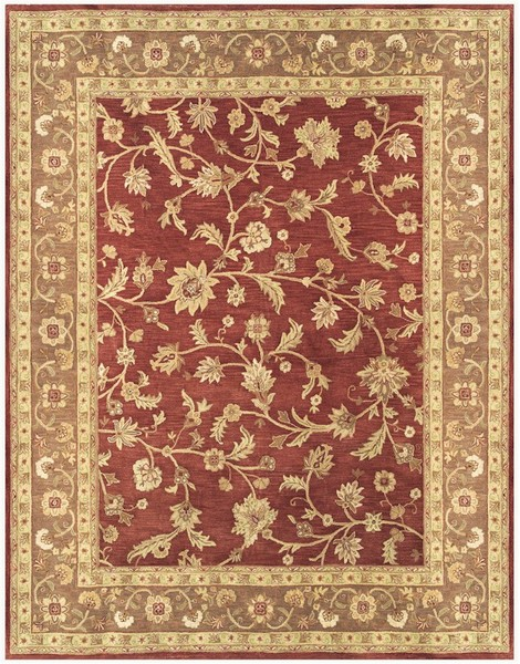 Feizy Salinas 8180f Red Chocolate Closeout Area Rug