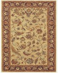 Feizy Yale 8236F Ivory/Red Closeout Area Rug