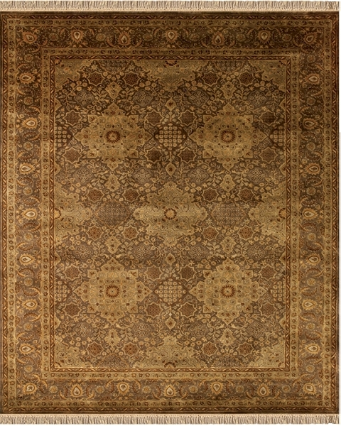 Feizy Amore 8239f Brn Brown Closeout Area Rug