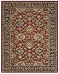 Feizy Yale 8268F Red/Black Closeout Area Rug