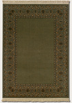 Couristan Kashimar 8269/9346 Open Field Afghan/Fern Green Closeout Area Rug