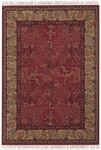 Couristan Gem 8572/1872 Tree of Life Bordeaux Closeout Area Rug