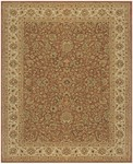 Feizy Ziba 8617F Rust/Ivory Closeout Area Rug