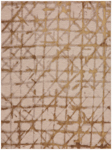 Karastan Enigma 90969 00918 Contact Brushed Gold Area Rug