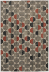 Mohawk Home Metropolitan 90995 20048 Brock Ginger Area Rug
