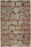 Mohawk Home Metropolitan 91010 20048 Elipsis Ginger by Virginia Langely Area Rug