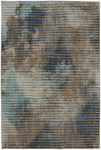 Mohawk Home Muse 91013 50137 Wireframe Lagoon Area Rug