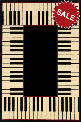 Oriental Weavers Andy Warhol Signature 92k Piano Keys