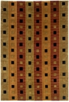 Couristan Pokhara 9345/1000 Matrix Pumpkin Closeout Area Rug - Spring 2011