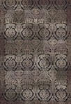 Couristan Bauhaus 9370/0042 Gothic Black Closeout Area Rug