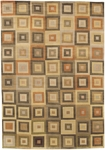 Couristan Pokhara 9385/1080 Tetragon Earth Tones Closeout Area Rug - Spring 2010