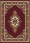 United Weavers Manhattan 940 35334 Cathedral Burgundy Area Rug