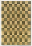 Couristan Pokhara 9529/1150 Checker Border/Fern Green Closeout Area Rug