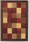 Couristan Pokhara 9561/5179 Enchantment/Chestnut-Multi Color Closeout Area Rug