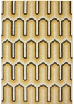 Karastan Panache 9627-10023 Willis Tower Golden Rod Closeout Area Rug