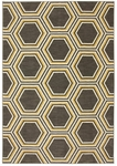 Karastan Panache 9660-90020 Honey Queen Bungee Cord Closeout Area Rug