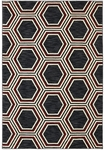 Karastan Panache 9661-90071 Queen Bark Black Closeout Area Rug