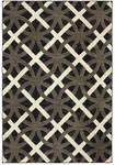 Karastan Panache 9756-90020 Chain Letter Bungee Cord Closeout Area Rug