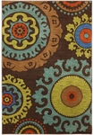 Karastan Panache 9757-80057 Indonesia Coffee Bean Closeout Area Rug