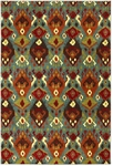 Karastan Panache 9825-60043 Switchback Sagebrush Green Closeout Area Rug