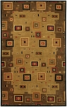 Couristan Pokhara 9926/1000 Timberlake Multi/Earth Tones Closeout Area Rug - Spring 2015