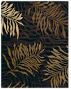 Couristan Pokhara 9928/0233 Golden Palms Brown/Amber Closeout Area Rug - Spring 2011