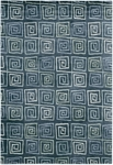 Couristan Pokhara 9950/0120 Serpentine Blue Closeout Area Rug - Spring 2011